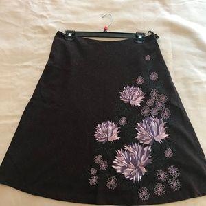 Monsoon Embroidered Skirt UK16/US12